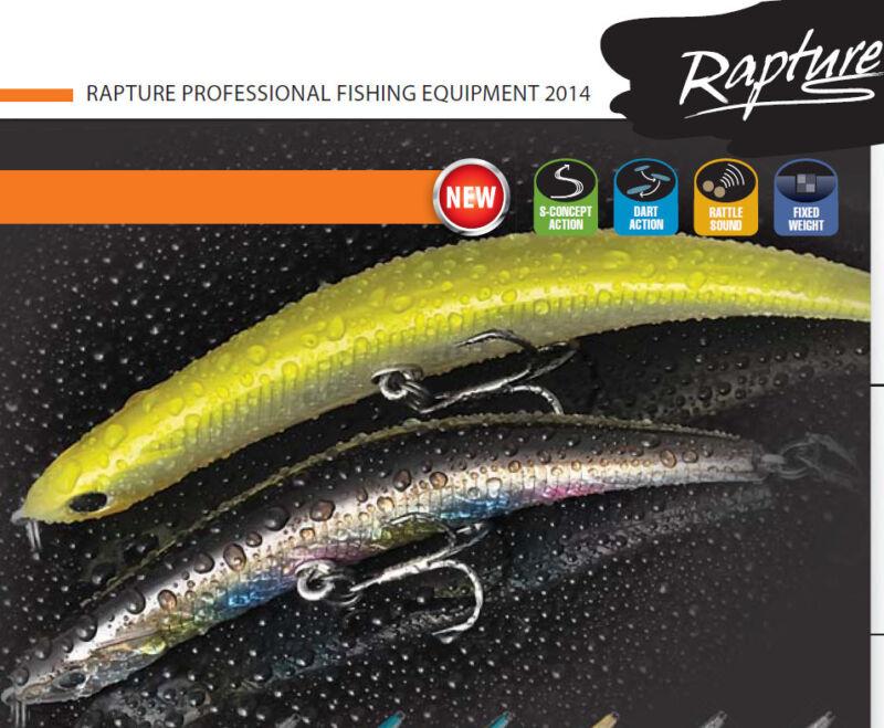 Rapture bowed minnow 7g 9cm  11g 11cm new 2014 Unique action sale price