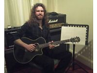 Guitar Lessons (Ipswich, and surrounding area's, including Felixstowe.