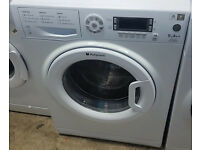 l232 white hotpoint 9kg 1600spin washing machine comes with warranty can be delivered or collected