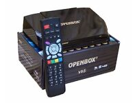 NEW OPENBOX V9S SATELITE RECEIVER SKY TV + 12 MONTHS GIFT PLUG AND PLAY SALE☆ FREE DELIVERY