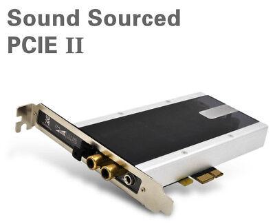 Elfidelity Sound Sourced PCI-E Hifi AK4396 DAC 2.0 Channel Internal Sound Cards