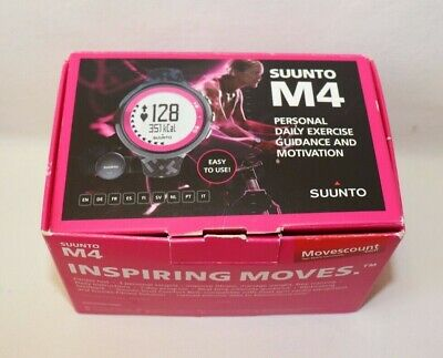 Pink And Black Suunto M4 Digital Sports Watch