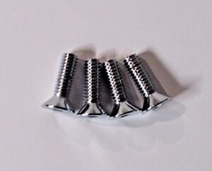 4-PACK CHROME 5/16-18 x 1
