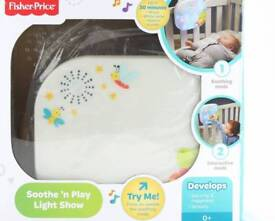 Fisher price soothe n lights