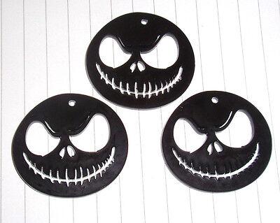 Halloween Nightmare Before christmas Jack cabochons charms x 3 kitsch Kawaii ()
