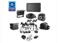 London DVS / FORS / 360 cameras for rigid and motorhome