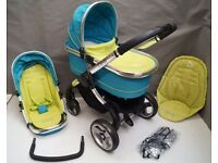 iCandy Peach in Sweet Pea FULL TRAVEL SYSTEM !!!