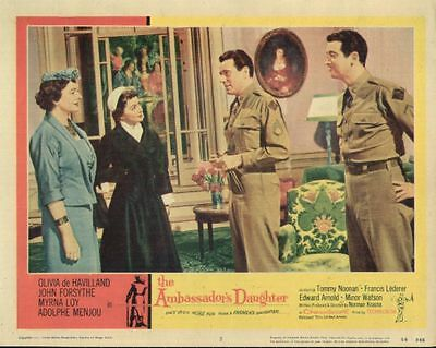 The Ambassador's Daughter (1956) 11x14 Lobby Card #3