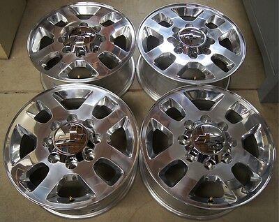 Chevy Silverado HD 2500 3500 8 Lug 18 OEM Factory Wheels Rims Sierra