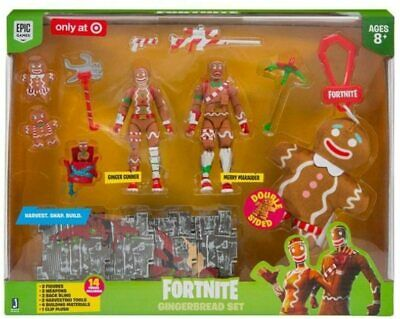 Fortnite Gingerbread Set Exclusive Action Figure 2-Pack