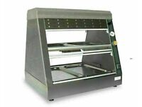 Cobol BBQ-4GN Pass thru Chicken heated display with humidity & halogen heat lamps