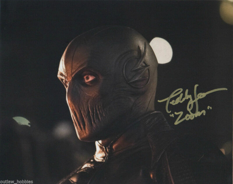 The Flash Teddy Sears Zoom Autographed Signed 8x10 Photo COA #1