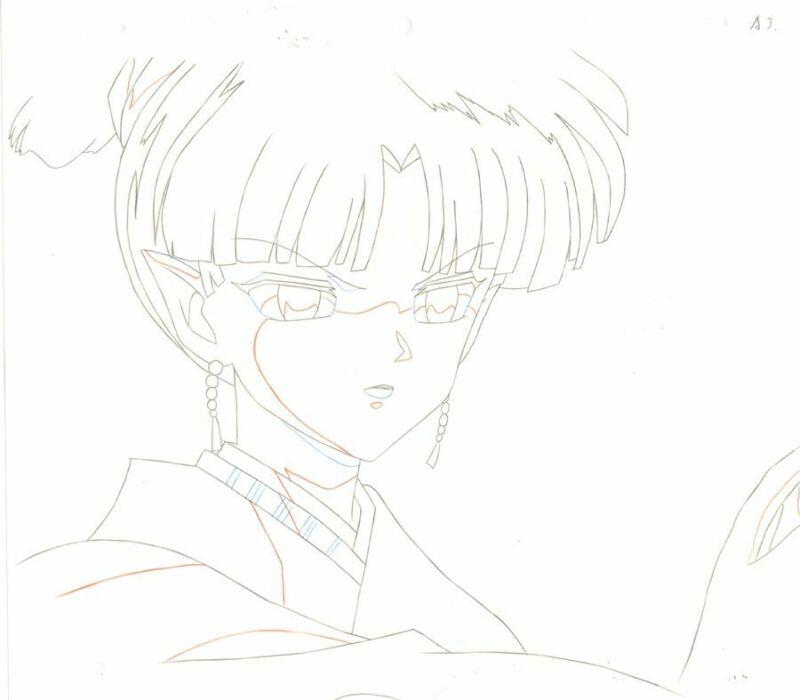 Anime Douga not Cel Inuyasha #146
