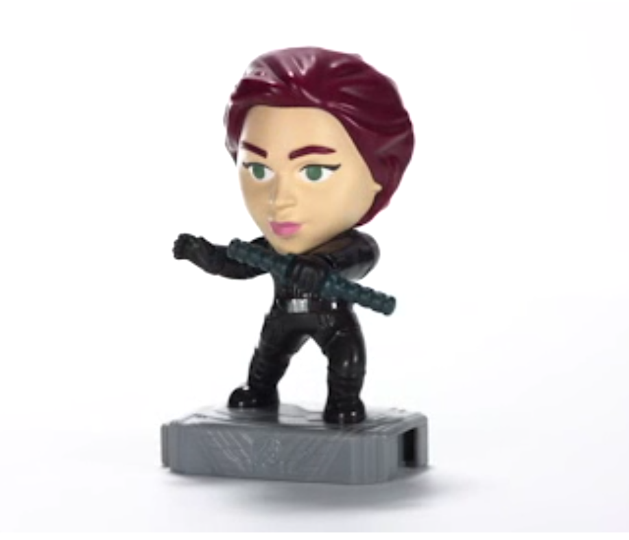 McDonalds 2019 Marvel Avengers Happy Meal Toy - Brand New in Sealed Package #16 Black Widow
