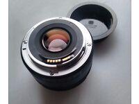 Canon EF 50 mm 1.8 STM Lens - excellent condition