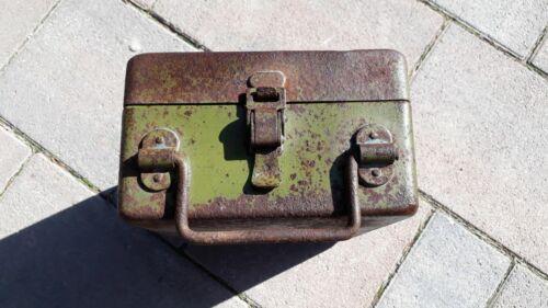 Hungarian Royal Army WW2 M31 Solothurn metal box