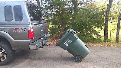 Bighorn Trash Hitch™ - Easy Trash Can Hauler