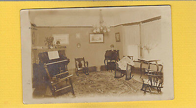 RPPC Interior dream in light of Living Room w/ Victorian furniture,DOANE cancel Springpark,MN
