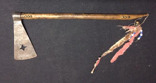 Missouri War Axe Tomahawk with Star Shape Cut out - Pawnee - Native American