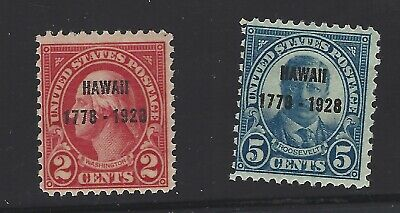 U.S. Stamps,  Scott # 647--648, Unused
