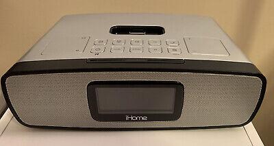 iHome iA90 Dual Alarm Stereo Clock Radio for iPhone/iPod