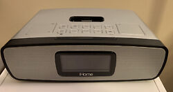 iHome iA90 Dual Alarm Stereo Clock Radio for iPhone/iPod