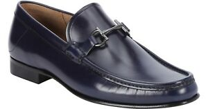 Ferragamo Maurice Blue Loafers Brand new