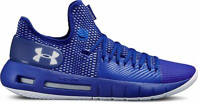 Under Armour Men's Hovr Havoc Low Basketball Shoes Sizes 6.5 thru 14 Royal/White