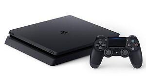 Playstation 4 slim - 500Gb - 3 jeux - 1 manette et +