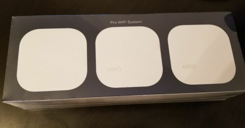 NEW! 🔥 eero PRO WiFi System (3 eeros) 2nd Generation - White B010301