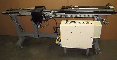 Dorner 2200 Series Plc Controlled Flat Belt Conveyor Conveying System 3 34x96