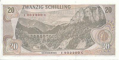 Österreich / Austria - 20 Schilling 1967 UNC - Pick 142