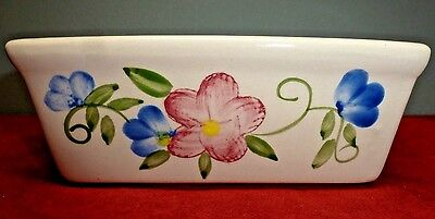 EUC Vintage WCL Hand Painted CERAMIC BAKEWARE