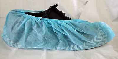 Disposable Shoe Covers Nonskid Medical Booties Size Large Sizes 7-11 Blue New