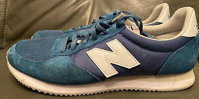 NEW BALANCE 220 Unisex Trainers Blue UK 9 US 9.5 EU 43 (very good condition) NB