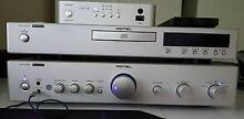 Rotel amplifier, CD player + DAC