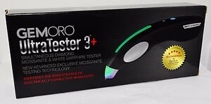 Electronic Diamond Tester detects latest Moissanite GEMORO Ultratester3+ NEW