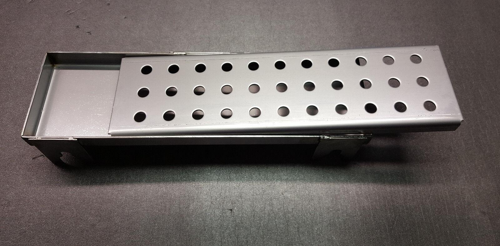 Smokerschale und Lochabdeckung für Gasgrill passend für Weber Q3000 + Q3200