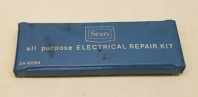 Vintage Sears All Purpose Electrical Repair Kit 34-6084