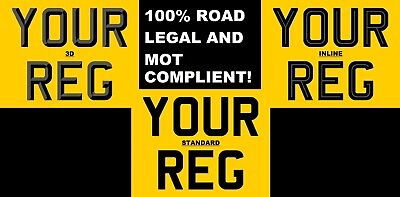 PREMIUM QUALITY MOTORCYCLE REAR BIKE NUMBER PLATE LEGAL 9x7 MOT COMPLIANT.