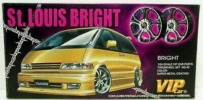 Aoshima St Louis Bright Wheel & Tire Set