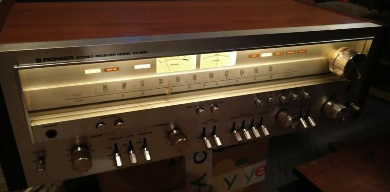 Make offer! Vintage Pioneer SX-850 Stereo Receiver. Works perfect.Free shipping!
