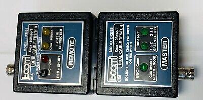 L-com Model Dxb65 Coax Ethernet Dual Cable Tester