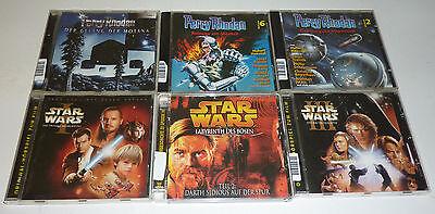 Perry Rhodan & Star Wars I. +  II. +  III. CD Sammlung 6 Stück