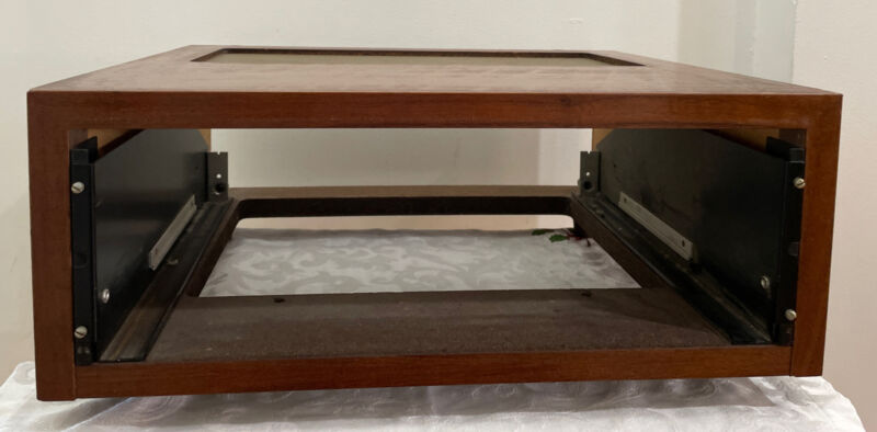 McIntosh Wood Cabinet Case for Mr67 Mx110 Mc2505 - Includes Panloc Brackets