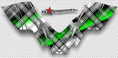 Arctic Cat M7 M8 M1000 Crossfire 05 - 11 Graphics Decal Sticker Kit Plaid Green