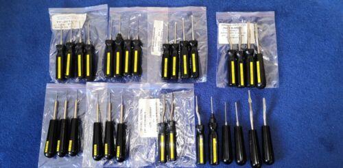 🌟  JOB LOT 30 AMPHENOL PYLE NATIONAL socket pin contact removal insertion tool