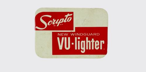Scripto New Winguard VU-Lighter Vintage Tin with Packing