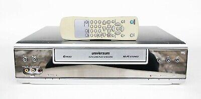 Videorecorder Universum VR 764 6 head HiFi Stereo gewartet 1 Jahr Garantie VHS