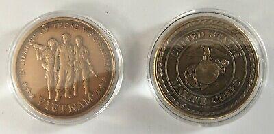 USMC Marine Vietnam Veteran Challenge Coin